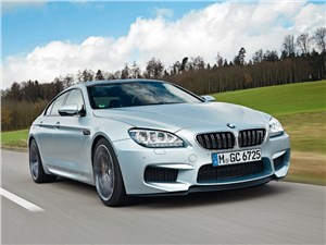 BMW M6 Gran Coupe - bmw m6 gran coupe 2013 вид спереди
