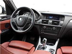 BMW X3 2010 водительское место