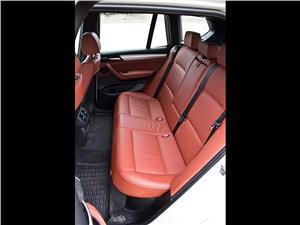 BMW X3 2010 задний диван