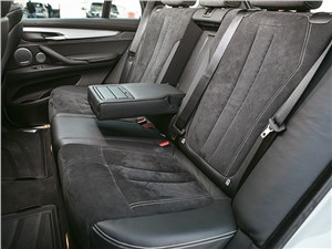 BMW X5 M50d 2013 задний диван
