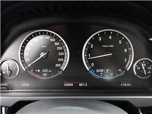 BMW X5 2013 приборная панель