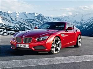 BMW Zagato Coupe 2013 вид спереди