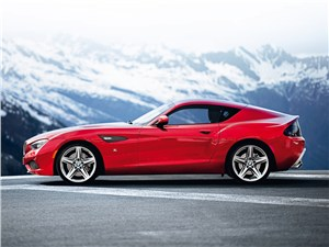 Предпросмотр bmw zagato coupe 2013 вид сбоку