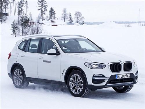 BMW может представить электрический X3 в апреле