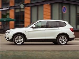 BMW X3 xDrive 20d 2015 вид сбоку