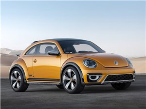 Предпросмотр volkswagen beetle dune concept 2014 вид спереди фото 3