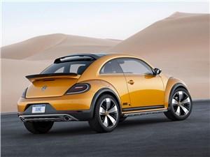 Предпросмотр volkswagen beetle dune concept 2014 вид сзади фото 1