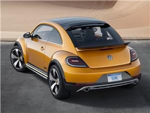 Предпросмотр volkswagen beetle dune concept 2014 вид сзади фото 2