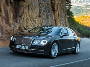Новый Bentley Flying Spur - Bentley Continental Flying Spur 2013 вид спереди