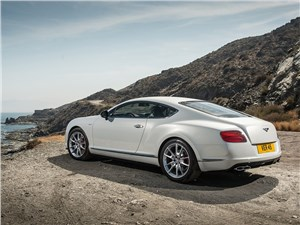 Предпросмотр bentley continental gt v8 s купе 2014 вид сзади