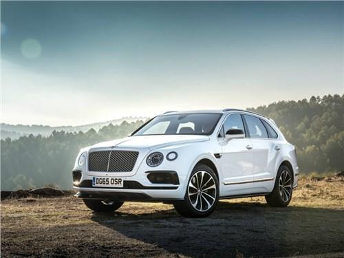 В России стартовал прием заказов на новую версию Bentley Bentayga