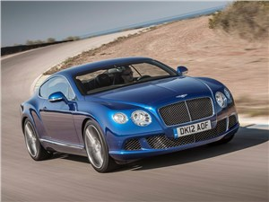 Bentley Continental GT Speed 2013 вид спереди