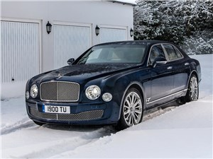 Новый Bentley Mulsanne - Bentley Mulsanne 2014 вид спереди