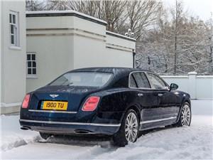 Bentley Mulsanne 2014 вид сзади