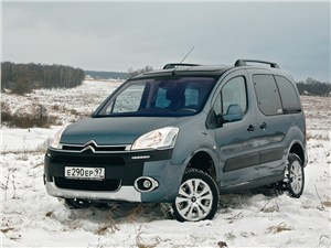 Citroen Berlingo - citroen berlingo 2009 вид спереди