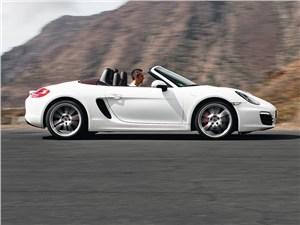 Porsche Boxster S 2012 вид сбоку