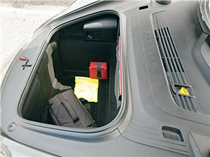 Предпросмотр porsche boxster s 2012 багажное отделение