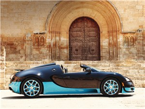 Предпросмотр bugatti veyron grand sport vitesse 2012 вид сбоку