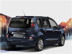 Большие возможности в малом формате (Citroen C3 Picasso,Honda Jazz,Nissan Note,Opel Meriva,Hyundai Matrix,Skoda Roomster) C3 Picasso - Citroen C3 Picasso 2013 вид сзади