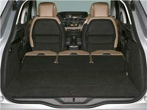 Citroen C4 Picasso 2014 багажное отделение