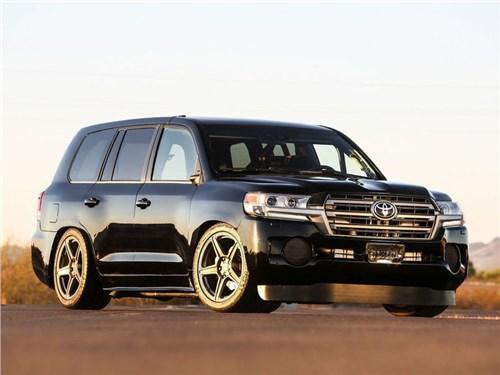 Новость про Toyota Land Cruiser - Toyota построила для SEMA самый мощный Land Cruiser
