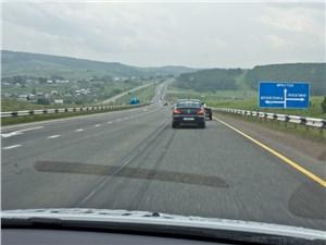 Через 150 км после Красноярска асфальтовые дороги становятся намного хуже