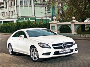 Mercedes-Benz CLS-Class - mercedes-benz cls 2012 вид спереди