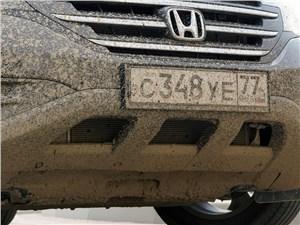 Honda CR-V 2013 передний бампер