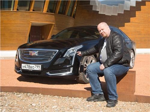 Cadillac CT6 - что противопоставит «немцам» и «японцам» новый cadillac ct6 2017