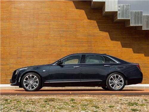 Cadillac CT6 2017 вид сбоку
