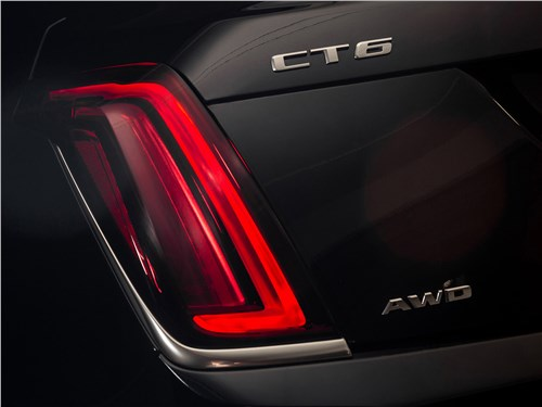 Cadillac CT6 2017 задний фонарь