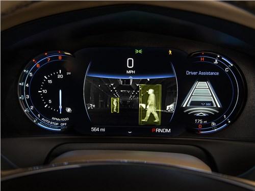 Cadillac CT6 2017 приборная панель