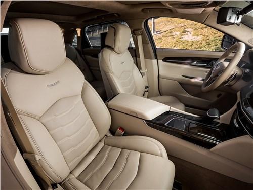 Cadillac CT6 2017 передние кресла