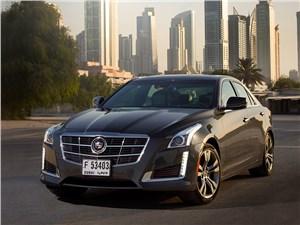 Cadillac CTS - cadillac cts 2013 вид спереди