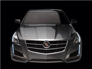 Cadillac CTS 2013 вид спереди