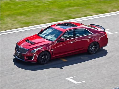 Cadillac CTS-V 2016 вид сверху