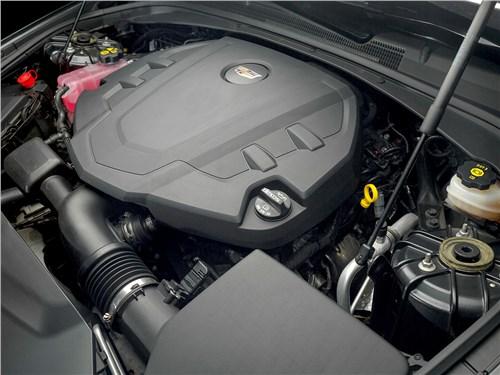 Предпросмотр cadillac cts 2017 двигатель