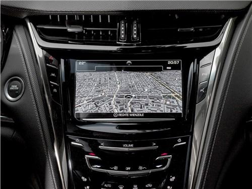 Cadillac CTS 2017 центральная консоль