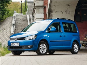 Volkswagen Caddy - volkswagen caddy вид спереди