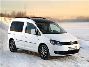 Volkswagen Caddy - экспресс-доставка: volkswagen caddy edition30 2012 вид спереди