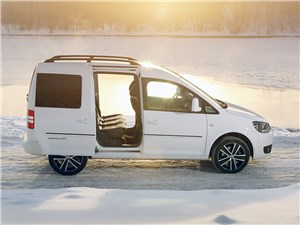 Volkswagen Caddy Edition30 2012 вид сбоку