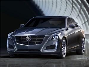 Новый Cadillac CTS - Cadillac CTS 2013 вид спереди