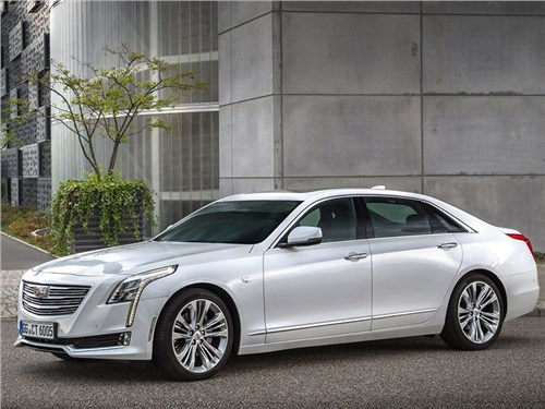 Cadillac CT6 появится в России только с одним мотором
