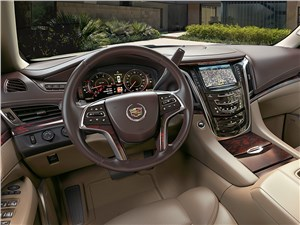 Cadillac Escalade 2015 водительское место