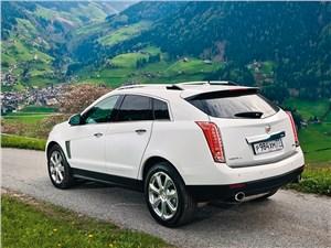 Французские истоки SRX - Cadillac SRX 2013 вид сзади
