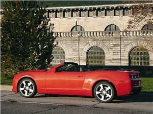 Chevrolet Camaro вид сбоку