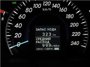 Toyota Camry 2012 приборная панель