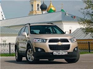 Chevrolet Captiva - chevrolet captiva 2011 вид спереди