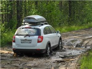 Chevrolet Captiva 2011 вид сзади