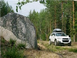 Chevrolet Captiva 2011 вид спереди